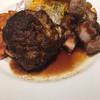 ビストロあじと - 料理写真:ハンバーグと豚テキのセット