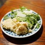 アルス 南青山 - おからサラダ・水菜サラダ