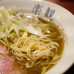 アルス 南青山 - 凪製麺の中細ストレート麺