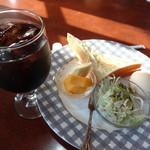 グルメ1世 - アイスコーヒー モーニング付