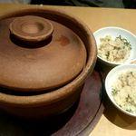 菜な - 旬の土鍋御飯:1,550円