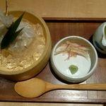 菜な - 自家製ごま豆腐:600円
