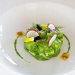 ULTRA BLUE - 料理写真:魚介をルッコラソースとパッションフルーツで
