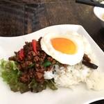 ステラモンテ - 料理写真:牛肉のガパオ炒めご飯