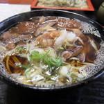えりも庵 - 料理写真:落葉キノコ蕎麦