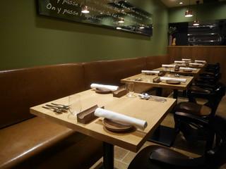 Prune - テーブル席