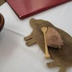 ビストロ コティディアン - 白ればーのパテ