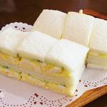 コーヒーショップ ナカタニ - 玉子サンド!!ヾ(o´∀`o)ノワァーィ♪