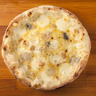 チーズ専門店のクワトロフォルマッジョ