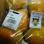 道の駅 伊勢本街道 御杖 - 富有柿5個入り200円(税込)