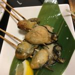 焼き鳥 武士 - 焼き牡蠣