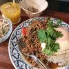 チャイラオ - 料理写真:パットガパオムーサップ