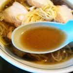 そば茶屋付知店 - スープ