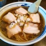 そば茶屋付知店 - チャーシューメン770円0