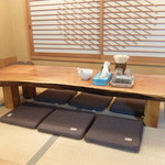 桜桃太郎 - お座敷席の様子