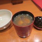 割烹 未能一 - シジミ汁