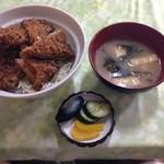 Hokushinkenshiyokudou - ソースカツ丼