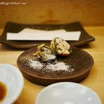 天ぷら懐石 いせ - *夜のおまかせ* 牡蠣