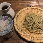 58735916 - ⑩2種もりそば 北海道新得町レラの香り十割