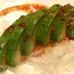 牛串酒場 バールミート - アボカドのカルパッチョ