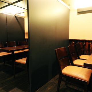 洗練された和装空間へとお客様を誘います!