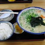 umichikashokudou - みそ汁定食630円