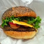 クアアイナ - バーガーのアップ