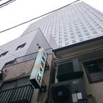 歌舞伎そば - 歌舞伎座タワーの裏