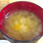 安田屋 - 味噌汁