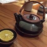 梨門邸 - 松茸の土瓶蒸し