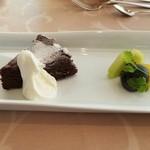 イタリア料理 ツインバード - 「ガトーショコラ」