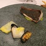 ブラッセリードゥ・プラ - 勘八の低温ロティと魚貝たち。