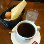 支留比亜珈琲店 - 料理写真:アメリカン&無料モーニング(400円)