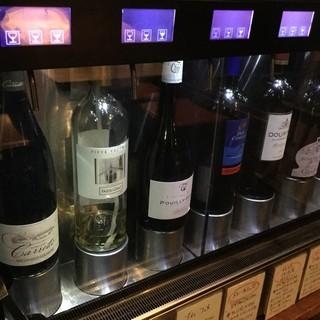 世界のワインと出会えます!