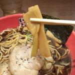 富山ブラック 麺家いろは - メンマ