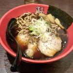 富山ブラック 麺家いろは - 富山ブラックラーメン(850円)