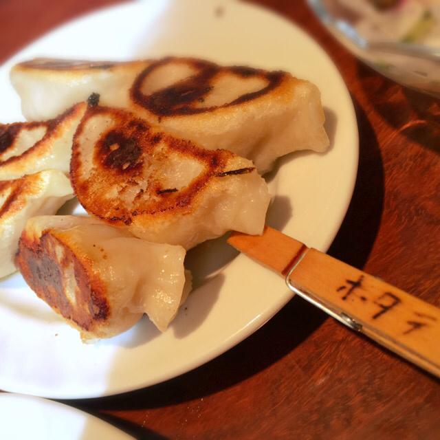 餃子のハルピン - 焼き餃子 ホタテ