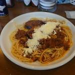 マーキーズハウス - 料理写真:漢方トマトソース、ナスミート