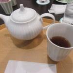 一之舩入 あんカフェ ル・プティ・スエトミ - ほうじ茶