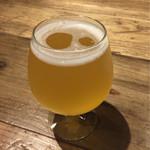 58747558 - 【さかづき林檎酒】(760円税込)甘めで通常のビールが苦手な方でもお勧め(笑)