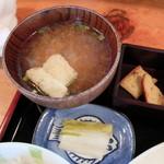 河昌 - 味噌汁、漬etc