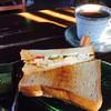 花ごろも - 料理写真:ブレンドコーヒー400円とエッグトーストサンドのモーニング