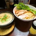 麺のようじ - 鶏すきやき風つけ麺