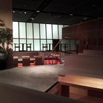 相田みつを美術館カフェ - カフェ内の雰囲気