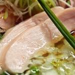 麺のようじ - 鶏塩らーめん(鶏ムネ肉)