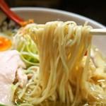 麺のようじ - 鶏塩らーめん(麺)