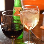 ボワットブランシュ - 南フランス産有機ワイン 赤(ランチわいん)&ジンジャーエール 甘口