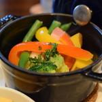 ボワットブランシュ - 温野菜ミニココット蒸し