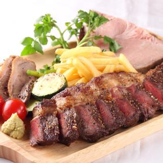 【わがままプレート】お肉3種類の盛り合わせ!