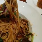 コロッセオ中目黒 - キャベツと豚肉パスタ2